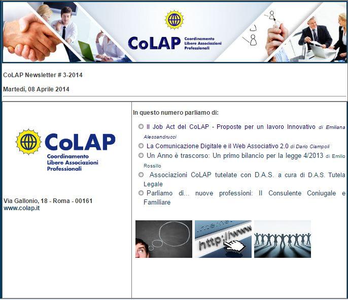 COLAP NEWSLETTER # 3-2014