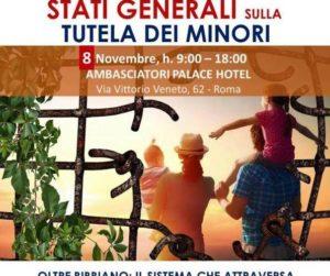 Stati Generali sulla Tutela dei Minori – 8 Novembre 2019