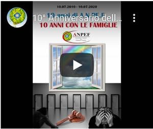 10° Anniversario Associazione Nazionale Pedagogisti Familiari